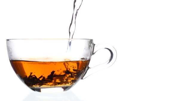Wasser für die Teezubereitung